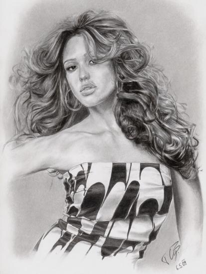 Jessica Alba by Timon